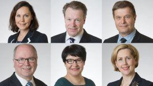 Kokoomuksen ja sosiaalidemokraattien eduskuntaryhmät ovat valinneet ehdokkaansa valiokuntien puheenjohtajiksi.