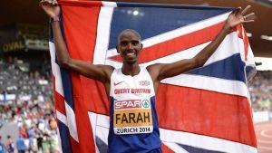 Juoksija Mo Farah