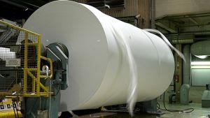 Paperirulla Kotkamillsin tehtaalla Kotkassa