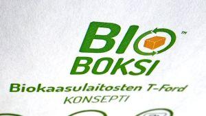Bioboksi idea voitti innovaatiokilpailun.