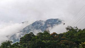 Kinabalun vuori Malesiassa.