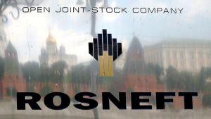 Rosneft yhtiön kyltti.