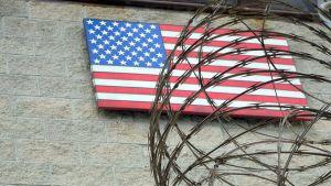 Yhdysvaltain laivastotukikohta Guantamo Bayssa Kuubasa.