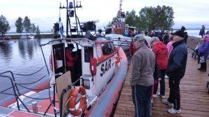 Paltanimen venesataman avajaiset