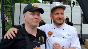 Jan Haaranen ja Hans Välimäki