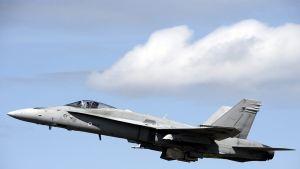 F/A-18 Hornet -hävittäjä