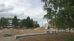 Rovaniemen vanhantorin puisto