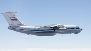 Venäjän ilmavoimien IL-76 kuljetuskone