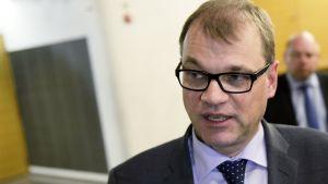 Pääministeri Juha Sipilä eduskunnan Pikkuparlamentissa 29. kesäkuuta.