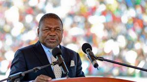 Mosambikin presidentti Filipe Nyusi.
