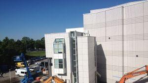 Tampere-talon remontti etenee