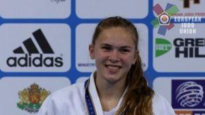 Emilia Kanerva, U18-ikäluokan Euroopan mestari