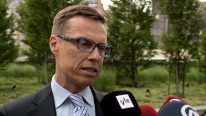 Suomen valtionvarainministeri Alexander Stubb.