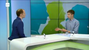Duncan Lamb interviewed on Yle TV1.