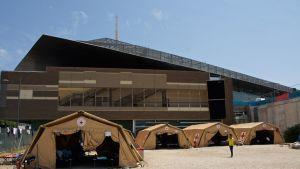 Pakolaisleiri Roomassa