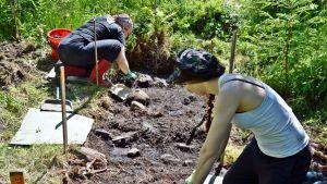 Kangasniemellä arkeologisia kaivauksia