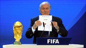 SWITZERLAND SOCCER FIFA WORLD CUP 2022, Blatter, Qatar