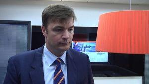Wärtsilä Finlandin toimitusjohtaja Stefan Damlin.