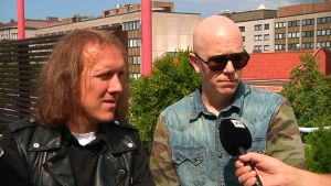 Sipe Santapukki ja Toni Wirtanen