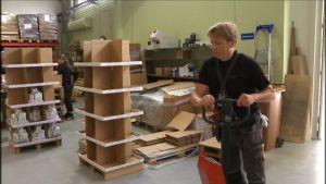 Tapio Sandkvist sai töitä työpankista neljän vuoden työttömyysjakson jälkeen.