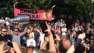 Teräväinen, Pohjois-Haagan yläaste, Stanley Cup, 21/7/2015