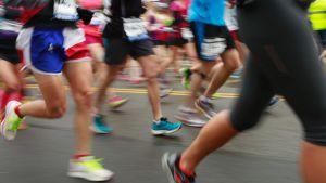 maraton kuvitus