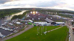Kantolan tapahtumapuisto kesällä 2015.