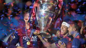 Neymar UEFA Mestareiden liigan finaalissa Saksassa 6 kesäkuuta 2015
