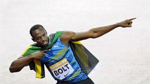 Usain Bolt Lontoossa 2015.