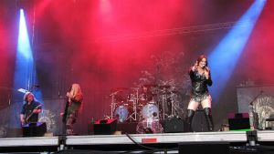 Nightwish keikalla 2015.