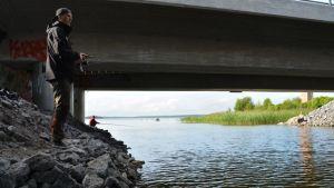 Vaasan kalapaikat ovat tuttuja Jani Haavistolle.