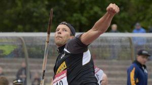 Tero Pitkämäki Kalevan kisat 2015