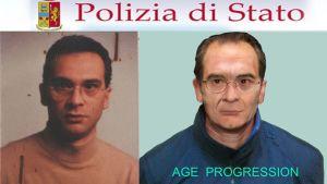 Italian poliisin vuonna 2011 teettämä tietokoneella rakennettu kuva miltä Matteo Messina Denaro näyttäisi nykyään.