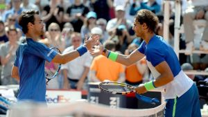 Fabio Fognini ja Rafael Nadal