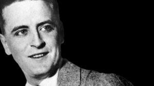 Yhdysvaltalainen kirjailija F. Scott Fitzgerald.