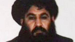 Talibanin välittämä kuva Mullah Muhammad Akhtar Mansurista.