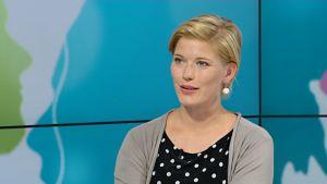 Aktian ekonomisti Heidi Schauman.
