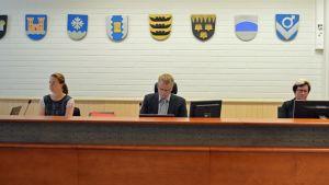Käräjäoikeuden tuomari Jyrki Määttä.