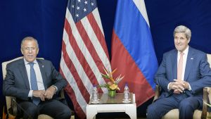 Sergei Lavrov ja John Kerry