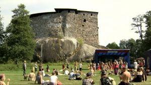 Faces-festivaalit järjestettiin Raaseporin linnan alueella vuonna 2014.