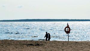 Tyhjä uimaranta