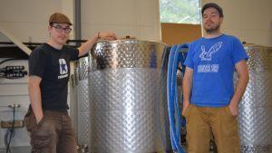 Harjun veljekset tekivät ensimmäiset omat oluensa nelisen vuotta sitten, nyt harrastuksesta on tullut ammatti.