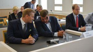 Markus Kokko ja Pekka Perä.