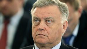 Venäjän valtiollisen rautatieyhtiön RZD:n entinen johtaja Vladimir Jakunin.