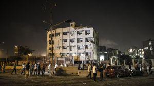 Kansallisen turvallisuuden talo Kairossa.