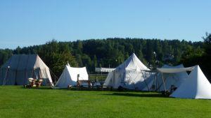 Keskiaikaleiri Hämeenlinnassa