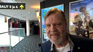 Vesa-Matti Loiri Finnkinossa Elämältä kaiken sain -elokuvan promokiertueella.