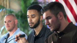 Spencer Stone, Anthony Sadler ja Alek Skarlatos.