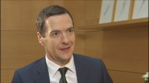 UK finance minister George Osborne