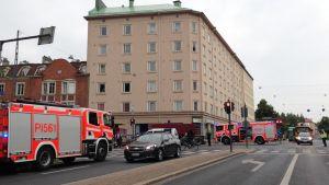 Onnettomuus Tampereella